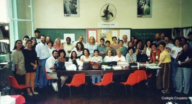 1996 - Corpo docente do Colégio Cruzeiro - Centro