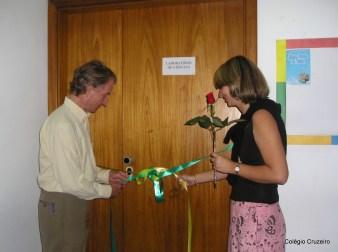 2004 - Inauguração do Laboratório de Ciências do Colégio Cruzeiro - Jacarepaguá