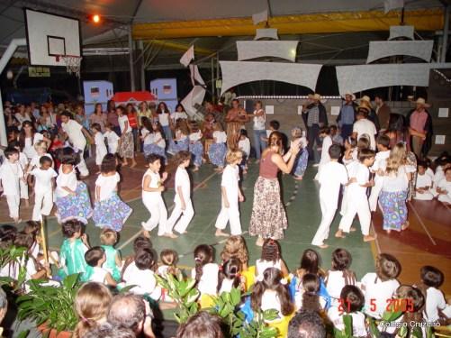 2005 - Apresentação de Capoeira no Colégio Cruzeiro - Jacarepaguá