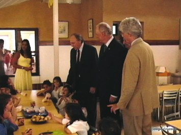 2006 - Visita do Embaixador alemão a unidade de Jacarepaguá