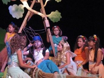 2007 - Apresentação teatral do Clégio Cruzeiro - Jacarepaguá - Sonha de uma noite de verão
