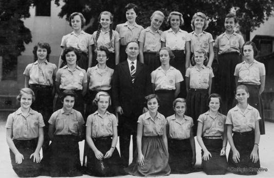 1955 - Foto de turma