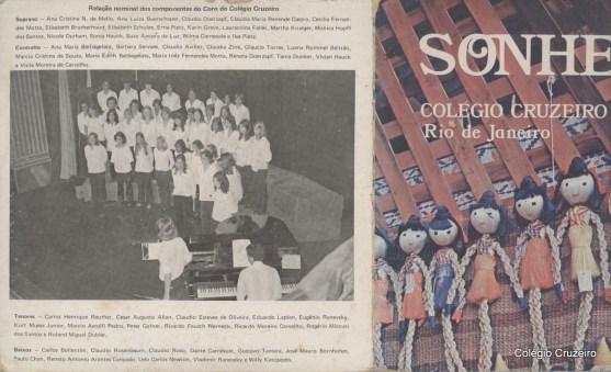 1977 - CD do Coro do Colégio Cruzeiro