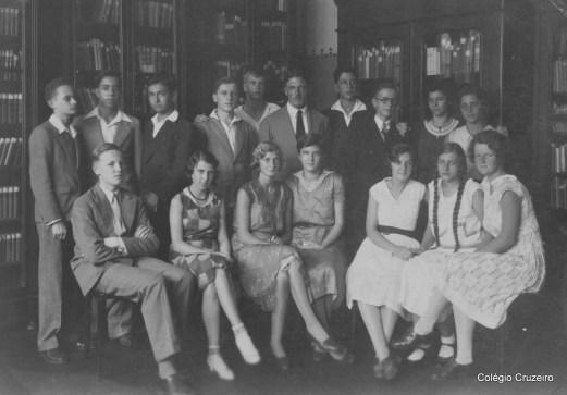 1931 - Foto de turma