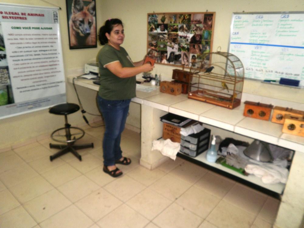 O Centro de Recuperação de Animais Silvestres-CRAS, pela veterinária Liliane Milanelo - uma gigante na causa pela recuperação e tratamento de animais silvestres.  (3/3)