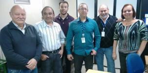 Equipe protocolo DAEE: Wilson, David, Felipe, Italo, Jorge, Ivani