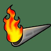 オリンピック聖火イラスト