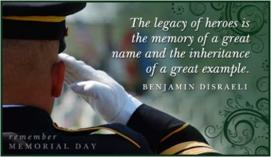 Memorial Day Greetings Messages