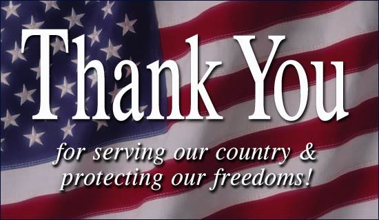 Veterans-Day Thank You
