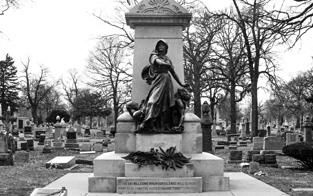 Haymarket Martyrs' Monument, Forest Home Cemetery, Forest Park, IL