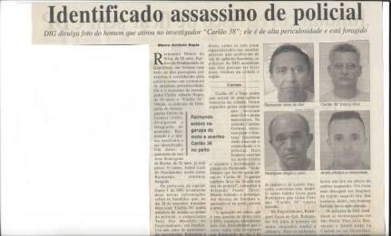 """O Investigador de Polícia Carlos Alberto Negro, """"Carlão 38"""", no dia 24 de setembro de 2004 saiu de uma agência bancária na cidade de Jundiaí e foi seguido por assaltantes. Em uma avenida tentaram parar o veiculo e balearam o Investigador, que mesmo ferido, apoiando se na porta de seu carro trocou tiros com o assaltante que fugiu, mas o policial veio a falecer. Na ocasião o Delegado de Polícia Titular da DIG de Jundiaí, Paulo Afonso Tucci, com os Investigadores Amadeu, Aldivino, Gerson, Jerônimo e Basson identificaram e prenderam todos os envolvidos com a morte do policial. Em homenagem ao Investigador de Polícia, desde 2011, o stand de tiro da Delegacia Seccional de Polícia de Jundiaí passou a se chamar CARLOS ALBERTO NEGRO, o """"Carlão 38"""" """". (enviado pela Investigadora de Polícia de Jundiaí Rudja Tucci Izzo)."""