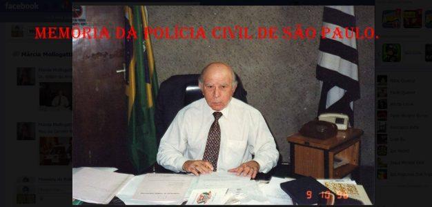 Delegado de Polícia William do Amaral. (acervo Dra. Marcia Gatti Mollo, enviado pela Delegada Márcia Mollogatti).