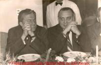 O Então Delegado Geral de Polícia Tácito Pinheiro Machado o Diretor do DEIC, Sérgio Fernandes Paranhos Fleury, em 1.978.