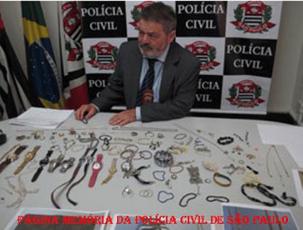 Delegado de Polícia Pedro Cerignoni Bonamin, em apreensão de valores roubados em arrastões em restaurantes de São Paulo. Iniciou sua carreira policial em 1.980, trabalhando na antiga Divisão de Entorpecentes- DEIC, DISCCPAT- DEIC (Kilo), DECAP e DEMACRO, etc...
