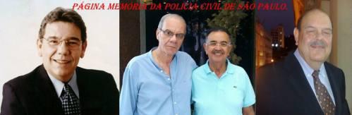 4 grandes jornalistas: João Leite Neto Perfil II, João Alckmin, Percival de Souza e Carlos Brickmann, juntos no programa Showtime Jornalismo aos sábados pela manhã: