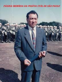 Na 2ª Divisão do Exército Brasileiro, na década de 70, o então Investigador da 1ª Delegacia de Roubos e Extorsões da DISCCPAT- DEIC (Kilo), Oscar Matsuo, sendo homenageado.