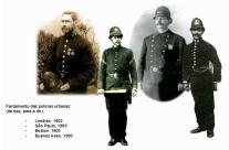 Fardamento das polícias urbanas no começo do século XX.