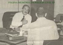 Delegado de Polícia Dr. José Eduardo Ferreira Ielo, no DEPATRI em 1.995.