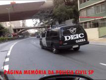 """Antiga Viatura do GARRA - DEIC. A """"Catarina""""."""