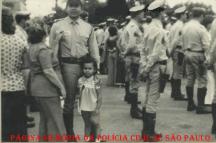 O Investigador Dorival Candel Ruiz, quando ingressou na Polícia Rodoviária, em 1.975. (acervo do filho, Canedo Sandro).
