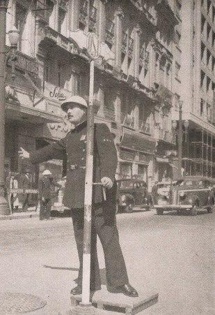 Guarda Civil de Trânsito (década de 40).