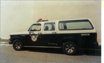 Viatura AD do GARRA, década de 90.