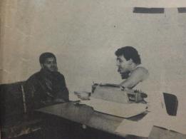 Investigador Osvaldinho, decada de 80.
