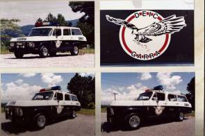 Viatura GM- Veraneio, década de 80.