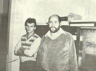 Investigadores Thomaz e Soares, do GARRA 44, em 1986.