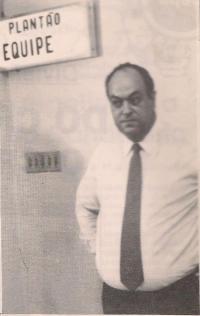 Delegado Nelson Silveira Guimarães, no DHPP (anos 80).