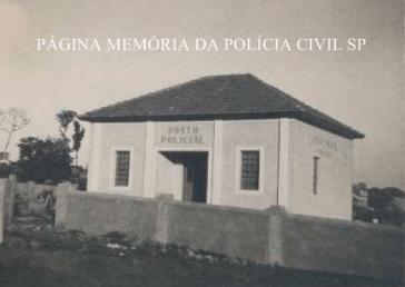Posto Policial do Município de Andradina/SP, em 1.950.
