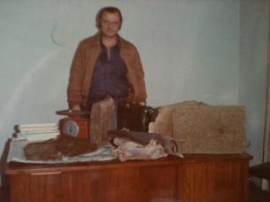 """Investigador Marcos Fleury """"in memorian"""", Chefe da antiga Divisão de Entorpecentes do DEIC, na década de 80."""