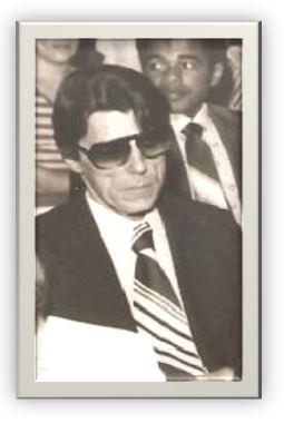 """Delegado de Polícia Sérgio Castro Pontes, o lendário """"Cavaleiro Negro""""! Um dos ícones da saudosa época da chamada """"polícia romântica""""!"""