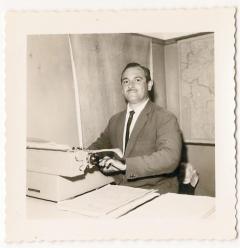 Escrivão de Polícia José Maia Nóbrega nasceu em 27 de agosto de 1928 e faleceu em 3 de setembro de 1982. Em 1948, ingressou na Polícia Civil como carcereiro em São José do Barreiro, Vale do Paraíba, permanecendo nesta função até 1955, quando prestou concurso para escrivão e passou em primeiro lugar. Foi trabalhar na Capital em janeiro de 1956. Em dezembro do mesmo ano, assumiu a Delegacia de Poá, ficando até 1968. Neste período, trabalhou com vários delegados, mas sempre foi o único escrivão da cidade. Prestou novo concurso e ingressou na Secretaria da Fazenda em 1968, quando deixou a Polícia Civil. Foi chefe dos postos fiscais de Ferraz de Vasconcelos, Suzano e Mogi das Cruzes. Quem o conheceu, tanto na Polícia como na Fiscalização, destaca sua probidade como marca principal. Morreu aos 54 anos.