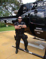 """Investigador de Polícia Paulo Henriques Hamermuler """"Pikachú"""", do GARRA de Mogi das Cruzes, falecido em 25 de agosto de 2012. Estava de serviço no plantão do Garra, quando sentiu-se mal, sendo socorrido ao hospital, onde teve uma parada cardíaca fulminante."""