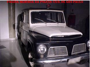 Viatura Rural Willys, décadas de 60 e 70.