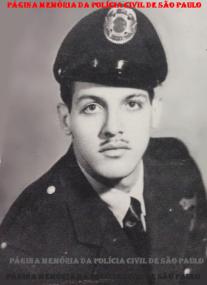 Integrante da extinta Guarda Civil da Polícia do Estado de São Paulo, Augusto Gonçalves de Oliveira Filho, na década de 60. (Acervo do filho, Delegado de Polícia Robson Gonçalves de Oliveira).