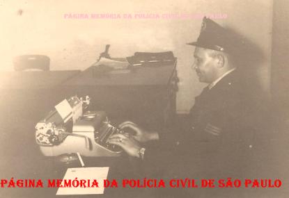 Integrante da extinta Guarda Civil da Polícia do Estado de São Paulo, Osmar Vieira Rodrigues, na década de 60. (Acervo do filho Dahilton Rodrigues).