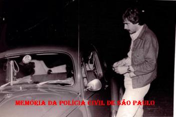 O saudoso Investigador de Polícia Luis Antônio Azevedo, de Bragança Paulista, na década de 70.