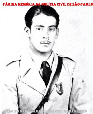 Integrante da extinta Guarda Civil da Polícia do Estado de São Paulo, Nelson Xavier de Brito, em 1.935.