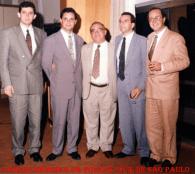 Dependências da Delegacia Geral de Policia , em 1.992. À partir da esquerda delegados Luiz Ferretti, M. Cesar Rodrigues, DGP Dr. Álvaro Luz Franco Pinto, Mário Celso Ribeiro Sene e Ronaldo Bittencourt Souza Cardoso. https://www.facebook.com/MemoriaDaPoliciaCivilDoEstadoDeSaoPaulo/photos/a.299034823552429.68610.282332015222710/1048306348625269/?type=3&theater