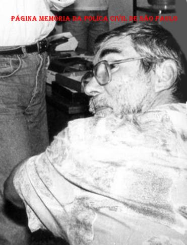 """Investigador da Delegacia de Estelionato- DIG- DEIC João de Souza """"João Mongoba"""", na década de 80."""
