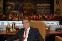 Delegado de Polícia Mário Leite De Barros Filho, in The 2nd INTERPA CONFERENCE, in Riyadh- Arábia, em 15 de abril de 2.013.