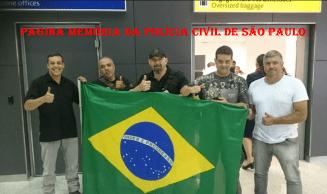 Equipe da Polícia Civil de São Paulo, no Campeonato Mundial de Sniper - USA, de 9 a 14 de novembro de 2.014.
