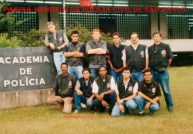 Turma do Curso de Formação Técnico Profissional para Investigador de Polícia da ACADEPOL, ano 1.994.