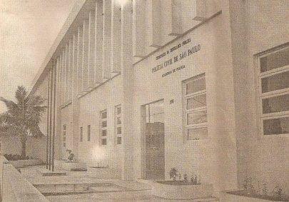 Antiga Sede do Núcleo de Ensino Policial do Litoral, ainda em Praia Grande (1995).