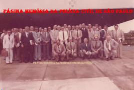 Curso de Aperfeiçoamento para Delegados de Polícia de 1ª Classe, para promoção à Classe Especial na ACADEPOL, em 1.969, durante a gestão do Secretário de Segurança Pública Erasmo Dias.
