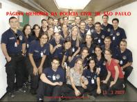 Turma do Curso de Formação Técnico Profissional para Delegado de Polícia da ACADEPOL, de 2.009.