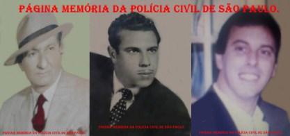 """As 3 gerações da família Vulcano na Polícia Civil do Estado de São Paulo (avô, filho e neto, de 13 de novembro de 1.934 até hoje). Investigadores de Polícia Luiz Arthur """"in memoriam"""" (foi Chefe do DI, atual DEIC e da 1ª Auxiliar, atual DECAP); Oswaldo """"in memoriam"""" (foi Chefe de vários DPs do antigo DEGRAN) e Sérgio Vulcano (Recentemente Chefe do DENARC e atual Chefe da 5ª Delegacia Seccional do DECAP)."""