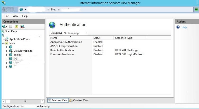 IIS 7 Fileserver